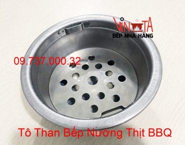 tô than bếp nướng thịt bbq