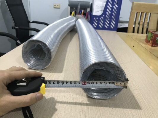 ống dẫn gió bằng nhôm mềm d100
