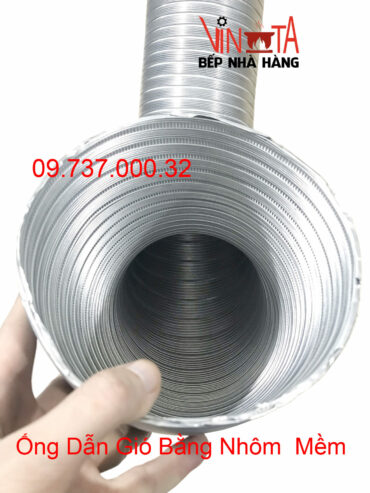 ống dẫn gió bằng nhôm mềm