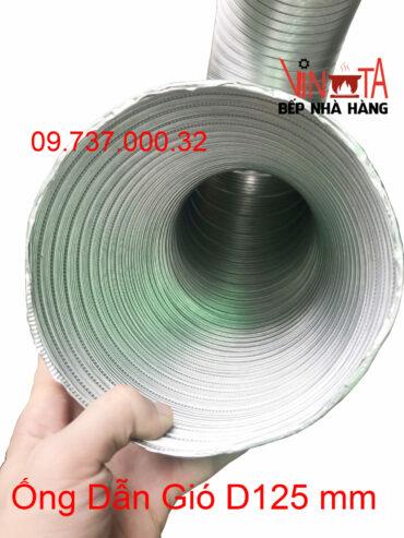 ống dẫn gió d125mm