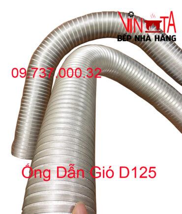 ống dẫn gió d100 mm