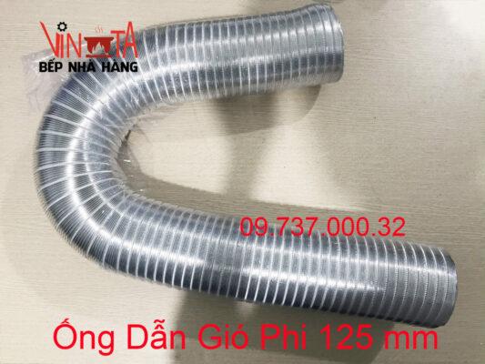 ống dẫn gió phi 125