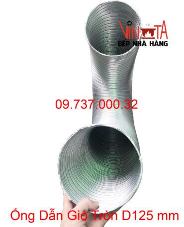 ống dẫn gió tròn d125mm